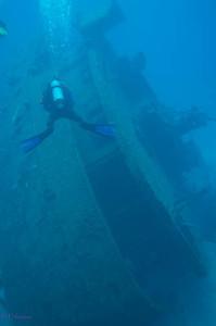 Roatan ship wreck